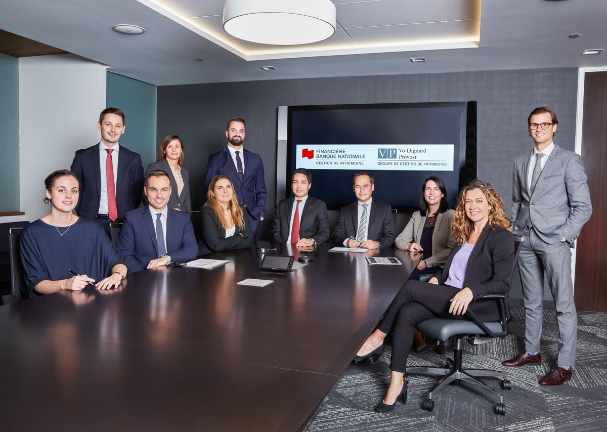 L'équipe du Groupe VP