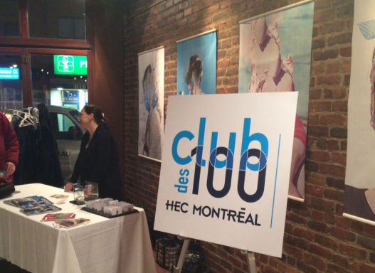 BREAKFAST MEETING OF 'CLUB DES 100' – PRESENTED BY THE VO-DIGNARD PROVOST GROUP